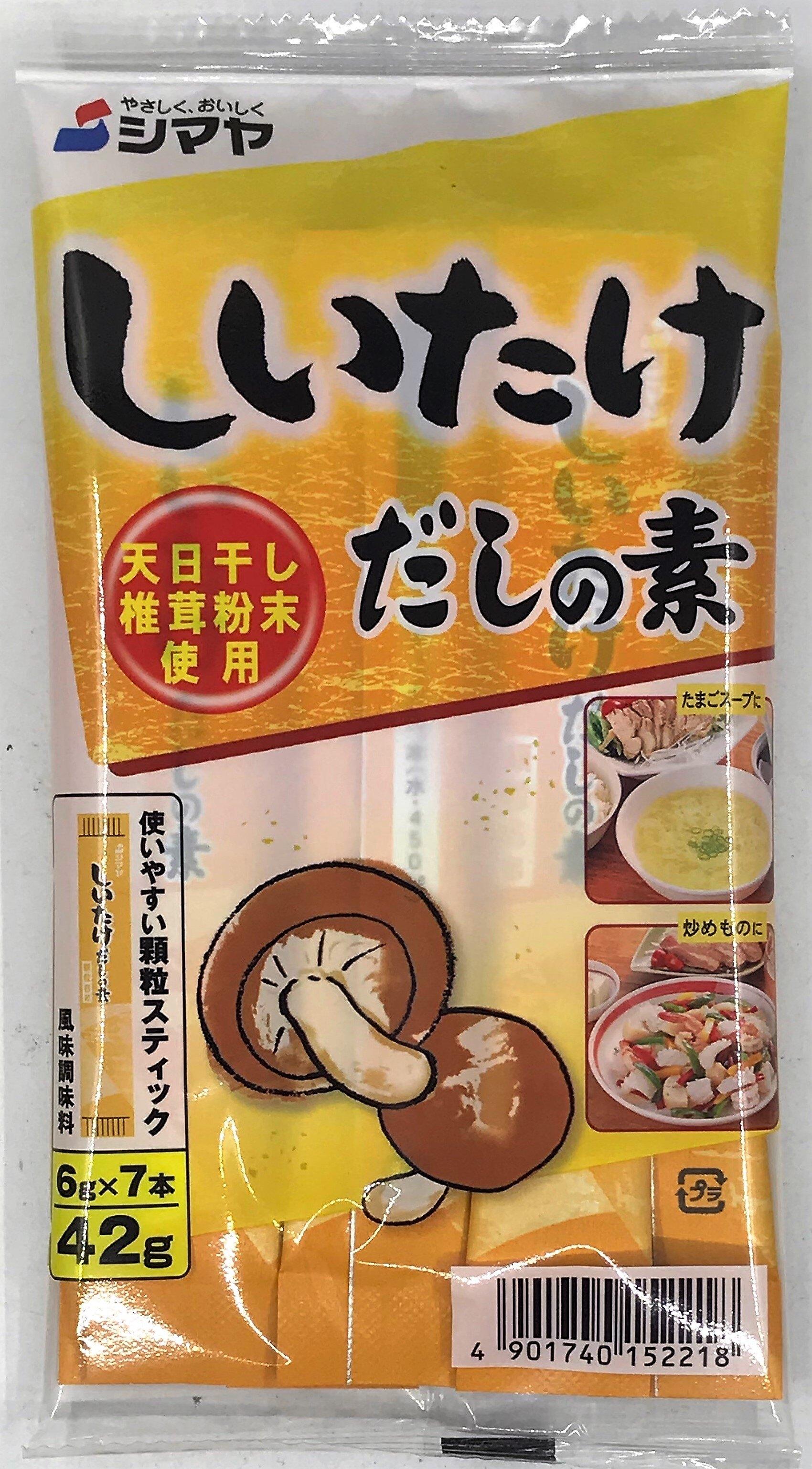 [哈日小丸子]香菇風味調味料(7袋/42g)