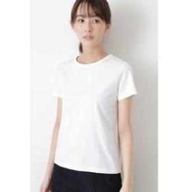 【HUMAN WOMAN:トップス】半袖Tシャツ