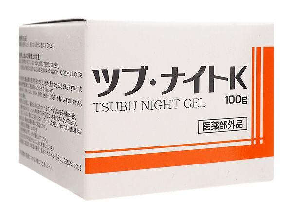 日本 Tsubu Night Pack~去油脂粒眼周去角質凝膠(100g)【D253678】