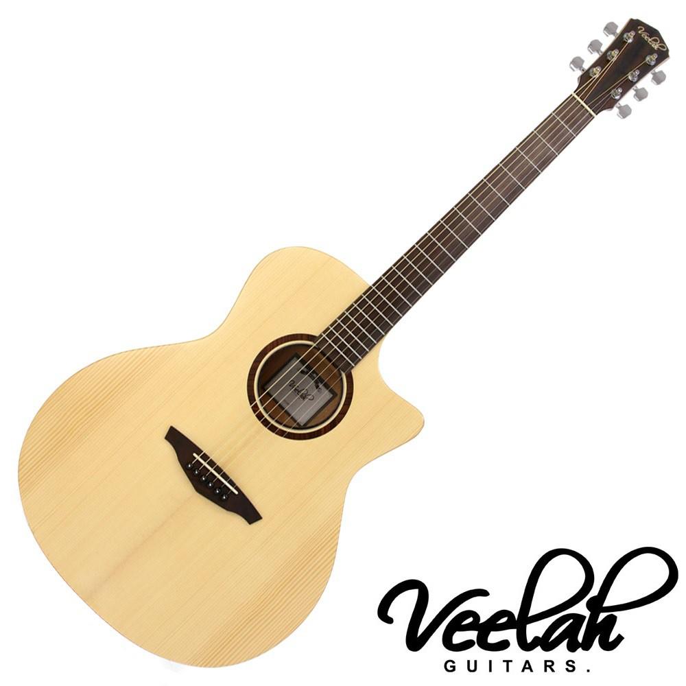 Veelah V1 GAC民謠吉他 40吋 雲杉單板 - 【黃石樂器】
