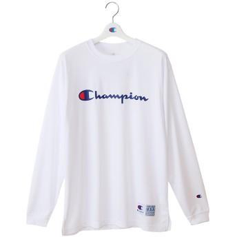 DRYSAVER ロングスリーブTシャツ 18FW CAGERS チャンピオン(C3-NB450)【5400円以上購入で送料無料】