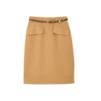 PROPORTION BODY DRESSING ベルト付きフラップタイトスカート