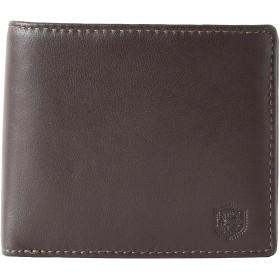 (ロンフォード)RONFORD Ram 財布 メンズ 二つ折り財布 札入れ 羊革 レザー MJ-5986 (チョコ)