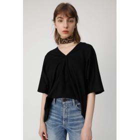 [マウジー] tシャツ V NECK LOOSE トップス 010CSH80-1050 FREE ブラック レディーズ
