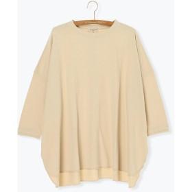 【6,000円(税込)以上のお買物で全国送料無料。】製品染め7分袖Tシャツ