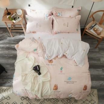 立派な図柄 寝具カバー 4点セット 柔らか優しい肌触り 掛布団カバー シーツ 爽やか キッズ 速乾 3点セット 清潔 G03