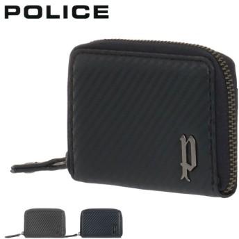 ポリス キーケース ラウンドファスナー ルチェンテ メンズ 70205 POLICE | 牛革 本革 レザー [08/10]