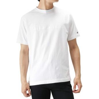 Champion(チャンピオン) クルーネックTシャツ 半袖Tシャツ クルーネック C3-M350-19 メンズ ホワイト:M