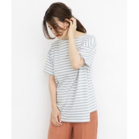 【URBAN RESEARCH:トップス】アシメボーダーTシャツ