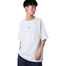 [カンゴール] KANGOL USAコットンドルマンBIG半袖Tシャツ オフ L サイズ