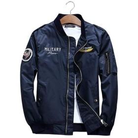 NCF MA-1 エムエーワンジャケット ミリタリフライトジャケット メンズ 薄手 ジャケット ネイビー 3色 M-3XL ブルー 3XL