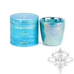 美國 D.L.  CO. OPALINE 經典乳白光石系列 Topaz 黃玉 482g 香氛蠟燭禮盒