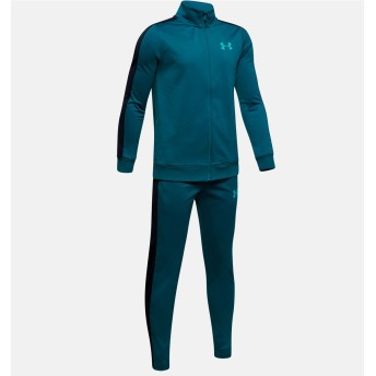 19F UA KNIT TRACK SUIT UNDER ARMOUR (アンダーアーマー) 1347743 417 BLU