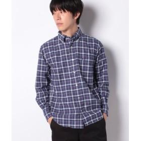 (McGREGOR/マックレガー)【一部店舗限定】McG長袖シャツ/メンズ ブルー