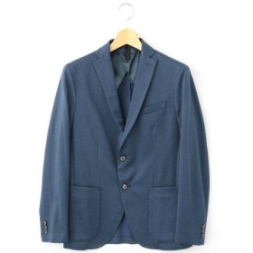 (MONSIEUR NICOLE/ムッシュニコル)フィールドセンサージャージージャケット/メンズ 60ブルー 送料無料