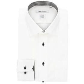 【THE SUIT COMPANY:トップス】【SUPER EASY CARE】ワイドカラードレスシャツ シャドーストライプ 〔EC・FIT〕