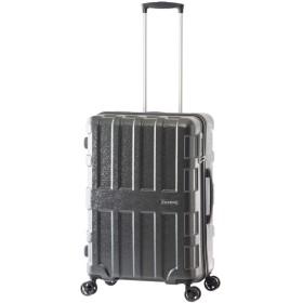 [アジアラゲージ] スーツケース|60L 58.5cm 3.2kg ALI-2611|ハード ファスナー|A.L.I MAXBOX MOSAIC モザイクシリーズ|TSAロック搭載[05/14] モザイクブラック