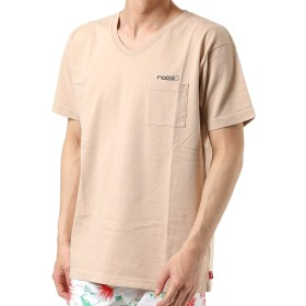 roial ロイアル メンズ 半袖 Tシャツ R902MDT04 BEIGE L