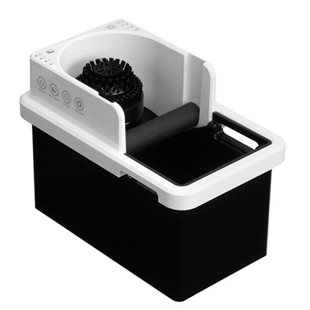 金時代書香咖啡 智慧型清洗把手粉渣盒 白 220V HG1288WH