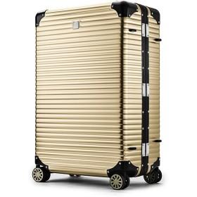 カバンのセレクション ランツォ スーツケース LANZZO NORMAN 87L Lサイズ ノーマン アルミフレーム アルミボディ ユニセックス ゴールド系1 フリー 【Bag & Luggage SELECTION】