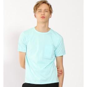 【アバハウス/ABAHOUSE】 【WEB別注】圧着クルーネック ポケットTシャツ