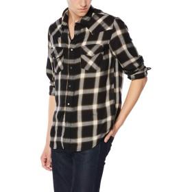 (ディーゼル) DIESEL メンズ シャツ テンセル素材チェックシャツ 00SZ0E0AAVZ L ブラック 900