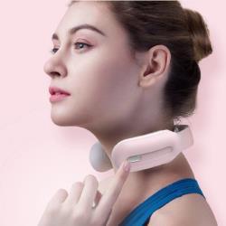 沛莉緹Panatec 智能肩頸按摩儀粉色 K-375P