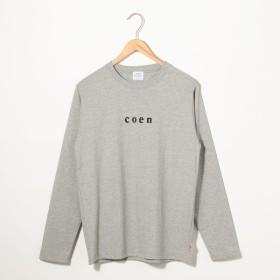[マルイ] coenチビロゴロングスリーブTシャツ/コーエン(メンズ)(coen)