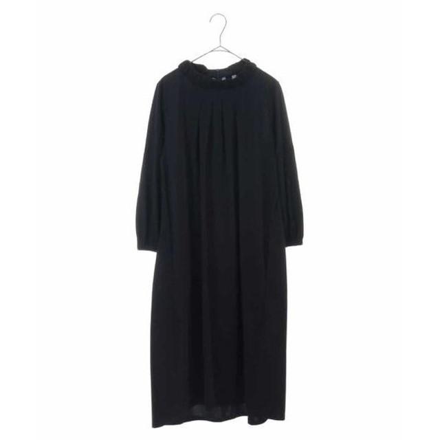 HIROKO BIS / ヒロコビス 【洗濯機で洗える】ブレーディング天竺ドレス