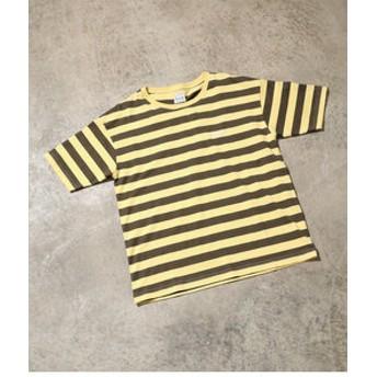 【ViS:トップス】【一部店舗限定】【Lee】ボーダーTシャツ