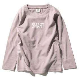 [マルイ] 子供服 キッズ ロゴプリント Tシャツ 長袖 長そで 男の子 女の子 ベビー トップス 韓国子供服/デビロック(devirock)