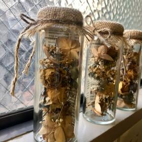 お花屋さんのドライフラワー「bottled flowers 3」
