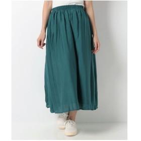 Te chichi Lugnoncure ヴィンテージサテンスカート(ブルー)【返品不可商品】