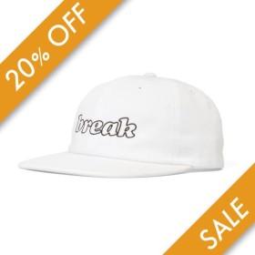 Lafayette ラファイエット BREAK 6 PANEL CAP キャップ LFT19SS084 WHITE ホワイト 【20%オフ】