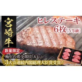 宮崎牛ヒレステーキ6枚 (5等級)(6枚)