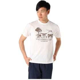 ビジョンピークス Tシャツ 半袖 メンズ ハンモック&バス SS T VP171106I02 OW L