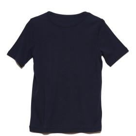 リネーム Rename クルーネックストレッチTシャツ (ネイビー)