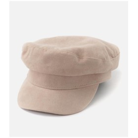 (AZUL BY MOUSSY/アズールバイマウジー)SUEDE TOUCH CASQUETTE/レディース L/BEG1