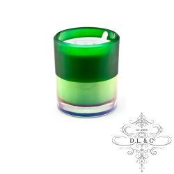 美國 D.L.  CO. ION FROSTED 霓虹光瓶系列 Verdant Spruce 蓊鬱雲杉 709g 香氛蠟燭