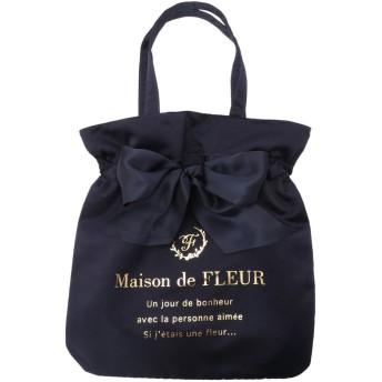 Maison de FLEUR メゾンドフルール リボントートバッグ