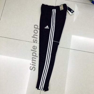 【Simple】現貨 Adidas skinny trackpants Track Pants三間線長褲 窄管小腿有拉鍊