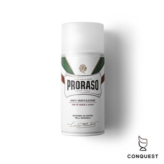 【 CONQUEST 】Proraso 義大利 刮鬍泡 刮鬍膏 刮鬍皂 綠茶配方 各種鬍鬚毛質皆適用 入門刮鬍膏