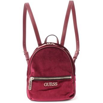 ゲス GUESS RONNIE BACKPACK (MERLOT)