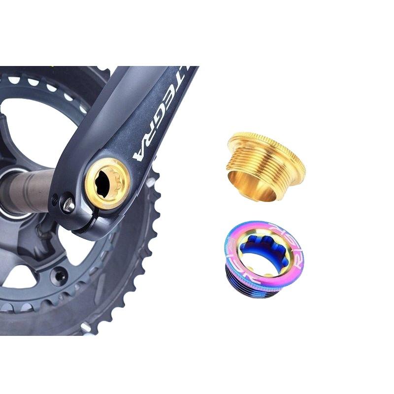 RISK TC4 鈦合金一體式大盤曲柄螺絲M20x8(多色選擇)【飛輪單車】