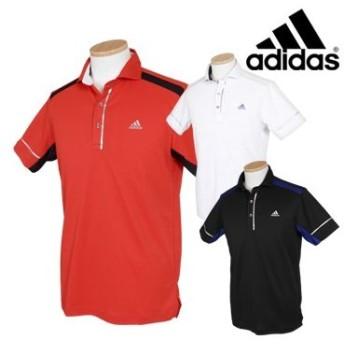 adidas Golf アディダスゴルフ 春夏ウエア クーリングプリント ワイドカラーシャツ CCO30 ビッグサイズ(XO)