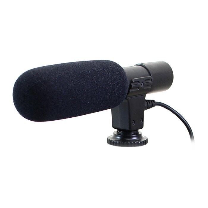 立體聲麥克風 外接式收音麥克風 適用 單眼相機 攝影機 手機直播錄音麥克風 指向性麥克風