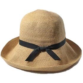 オッズ TRAVEL SUN HAT 専用袋付き ブラウン od191-0417