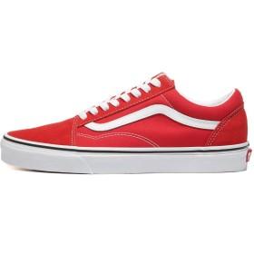 [バンズ]ヴァンズ オールドスクール VANS Old Skool racing red/true white / VN0A4BV5JV6 [並行輸入品]
