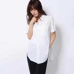 リネーム Rename 半袖コットンシャツ (ホワイト)