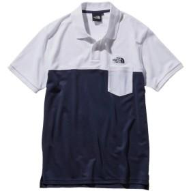 ノースフェイス ポロシャツ メンズ S/S MAXIFRESH Panel Polo マキシフレッシュ パネル ポロ NT21842 WC M